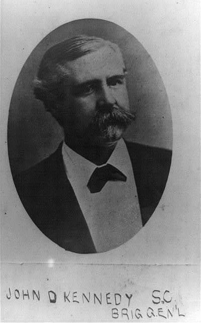 [Brig. Gen. John D. Kennedy, head-and-shoulders portrait, facing right]
