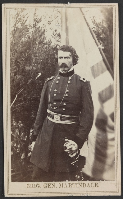 Brig. Gen. Martindale / From photographic negative in Brady's National Portrait Gallery.