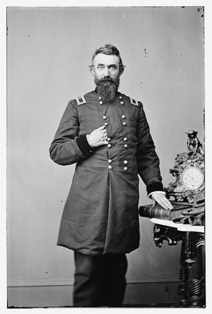 [Brig. Gen. Nathan Kimball, officer of the Federal Army (Maj. Gen. as of Feb. 1, 1865)]