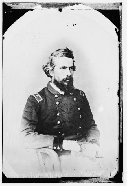 Brig. Gen. Truman Seymour, Capt. At Fort Sumter, 1861