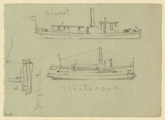[Broadside views of the Whitehead, Cohasset, and Young America]