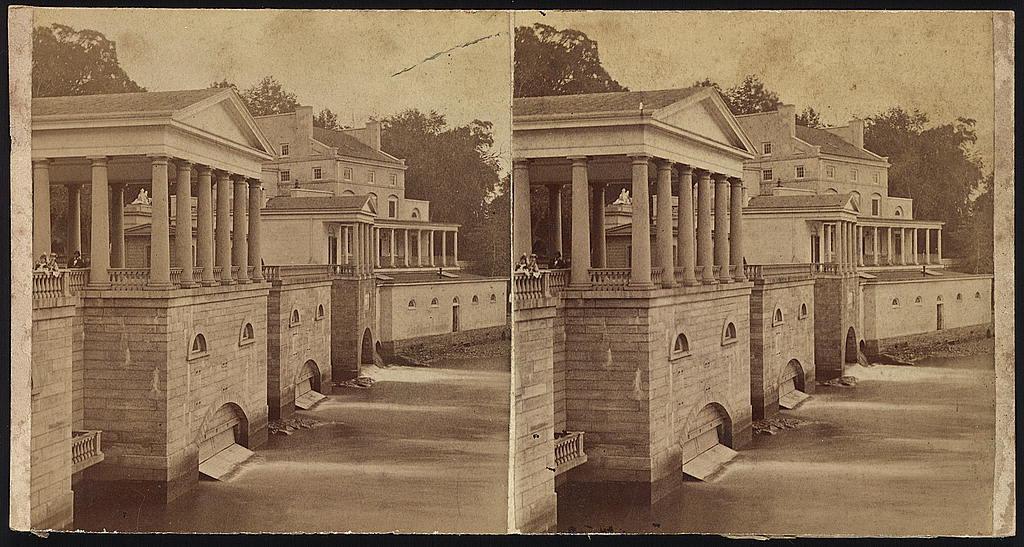 [Buildings at the Fairmount Water Works, Philadelphia, Pennsylvania],