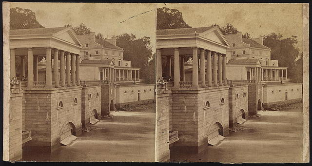 [Buildings at the Fairmount Water Works, Philadelphia, Pennsylvania],