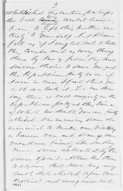C. J. Jack to Abraham Lincoln, Wednesday, December 05, 1860  (Sends clipping and cabinet advice)