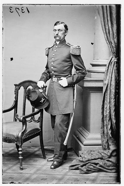 Capt. Charles Griffin, Commanded West Point Battery at Bull Run