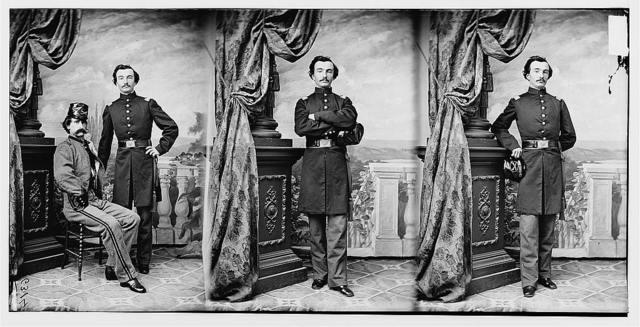 Capt. Fred F. Burlick, 4th Ark. Cav.
