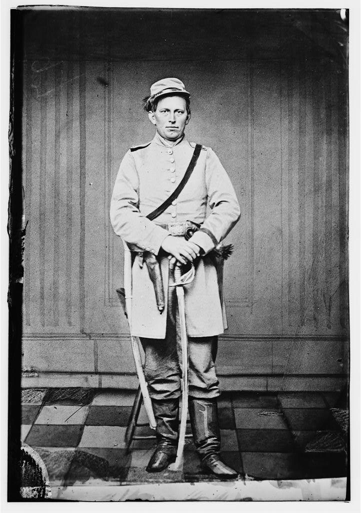 Capt. James S. West, C.S.A. (Cavalry)