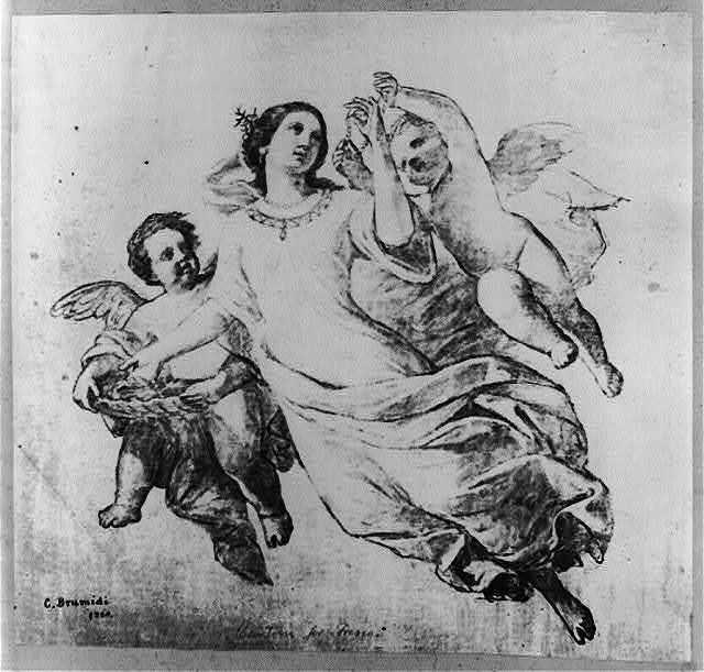 Cartoon for fresco