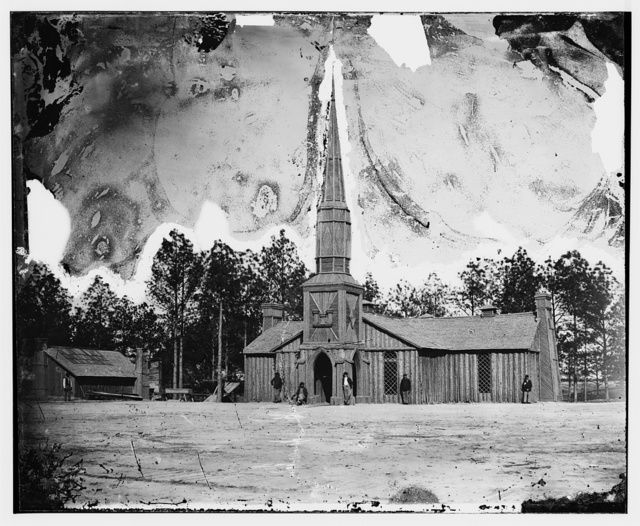 Church of Petersburg, Va, built by 50th N.Y. engineers