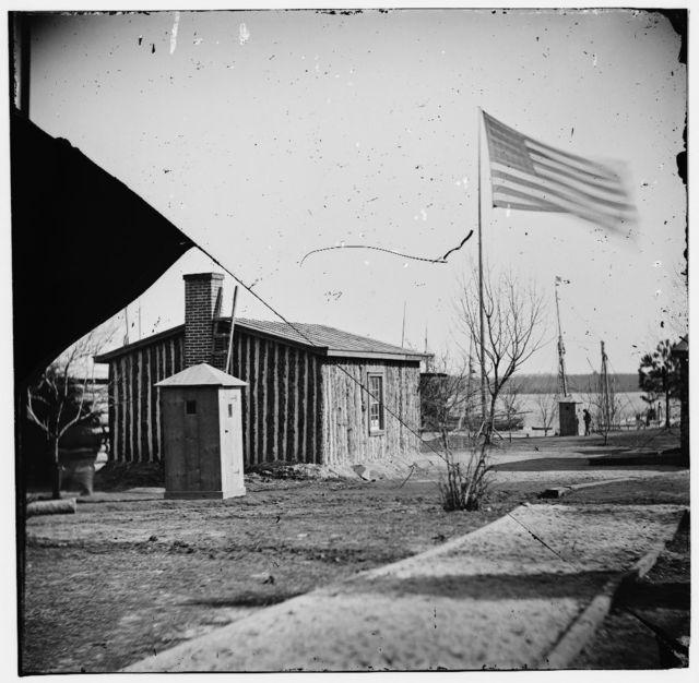[City Point, Va. Rear view of Gen. Ulysses S. Grant's headquarters]