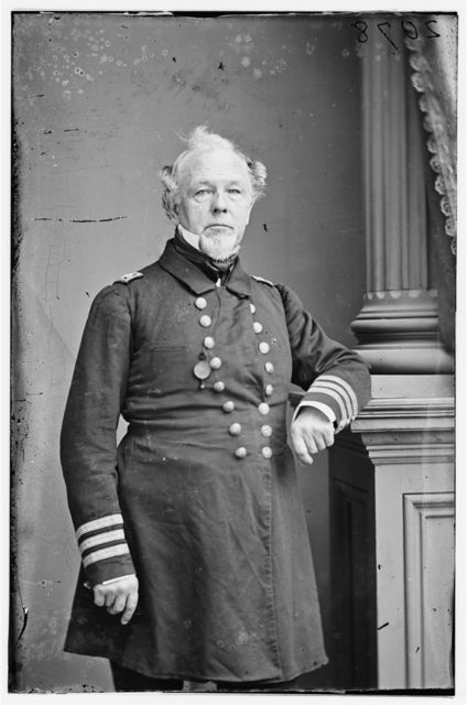 Commodore J.B. Montgomery, U.S.N.