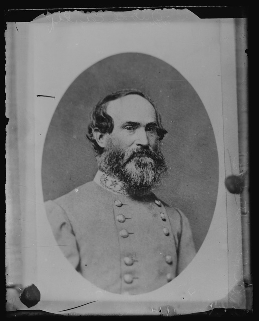 [Confederate General Jubal Early, head-and-shoulders portrait, facing front]