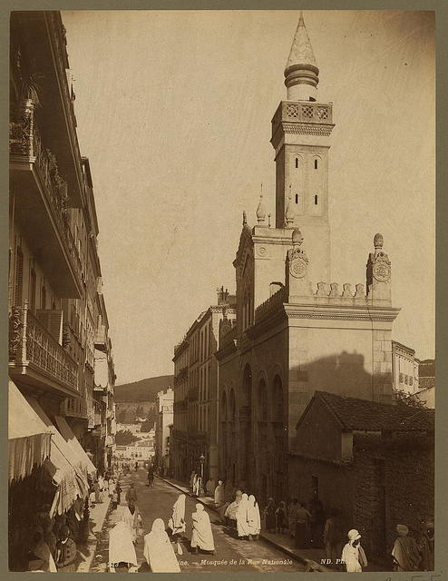 Constantine. Mosquée de la Rue Nationale / ND Phot.