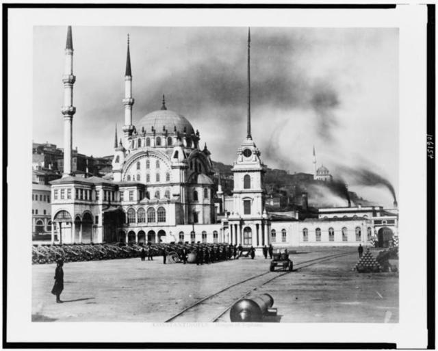 Constantinople. Mosque of Tophane