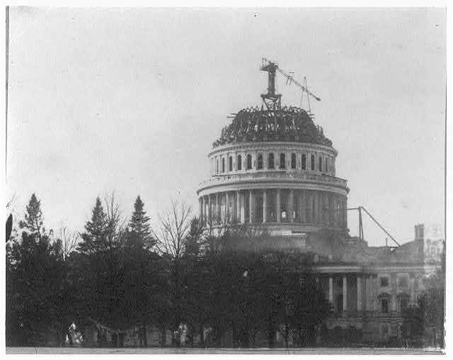 [Construction of Capitol dome]