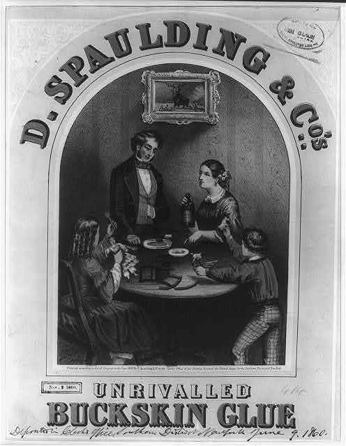 D. Spaulding & Co.'s unrivalled Buckskin glue