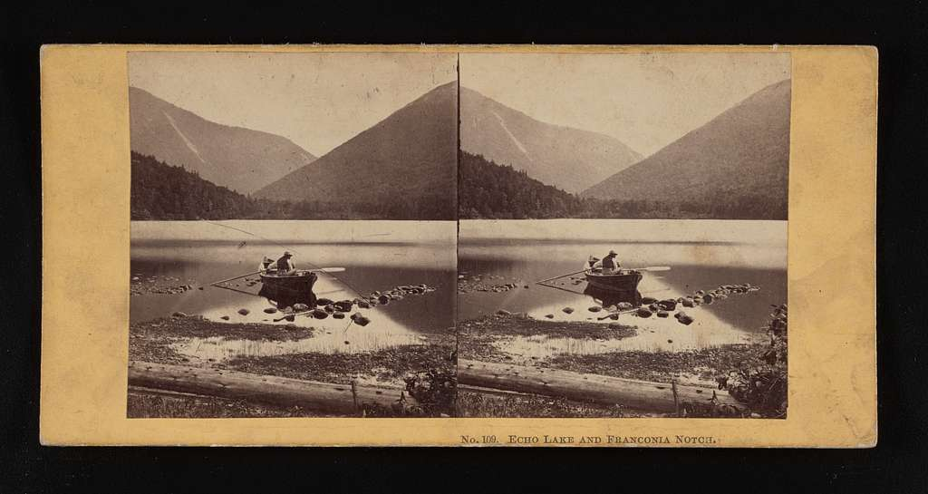 Echo Lake and Franconia Notch