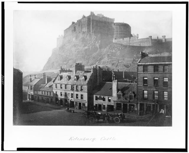 Edinburgh. Castle