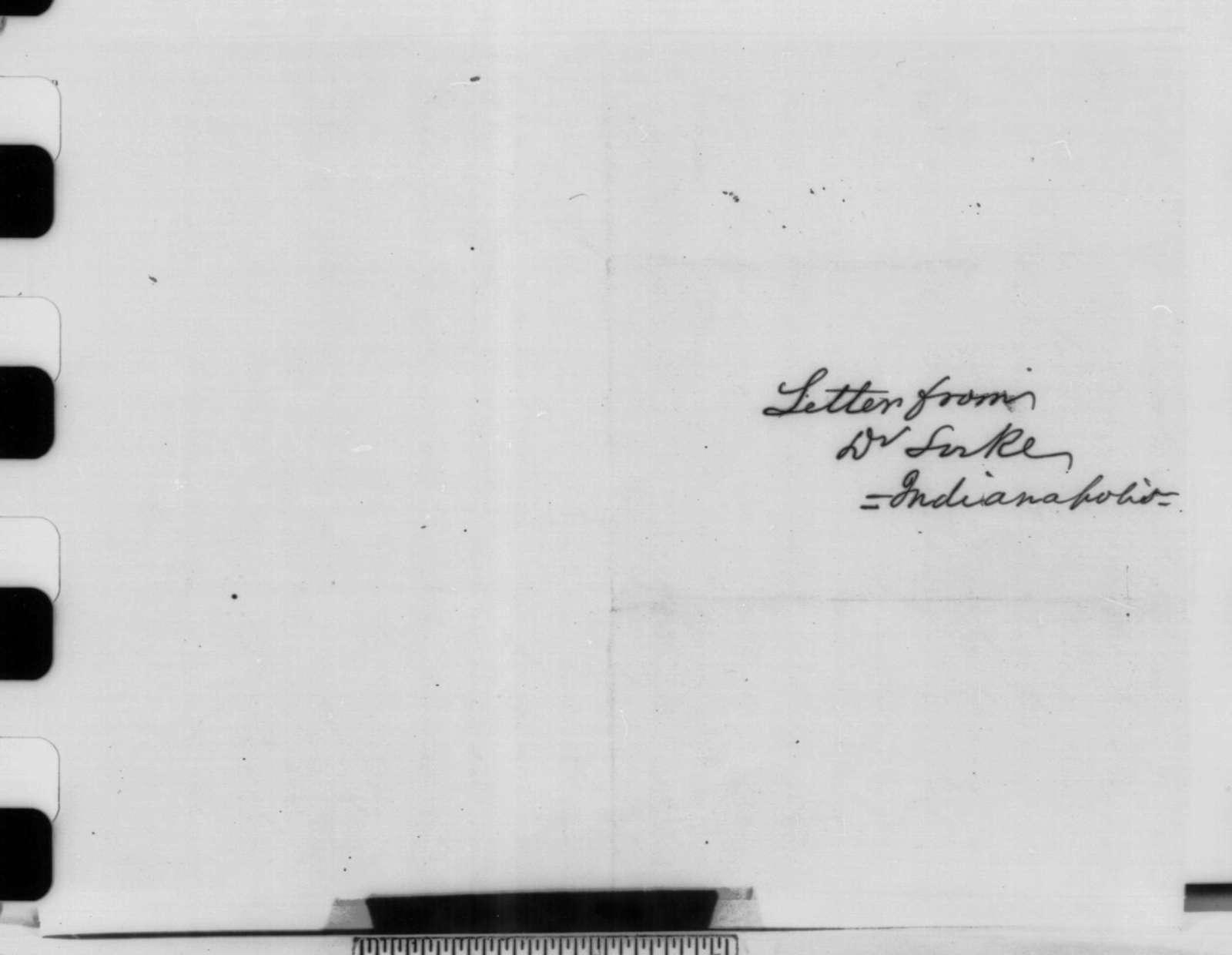 Eric Locke to David Davis, Wednesday, December 26, 1860  (Recommends Caleb Smith)