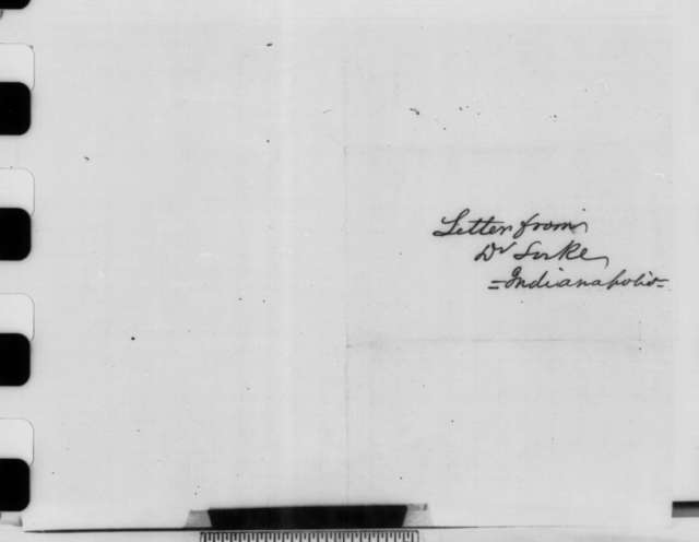 Eric Locke to David Davis, Wednesday, December 26, 1860  (Recommends Caleb Smith)