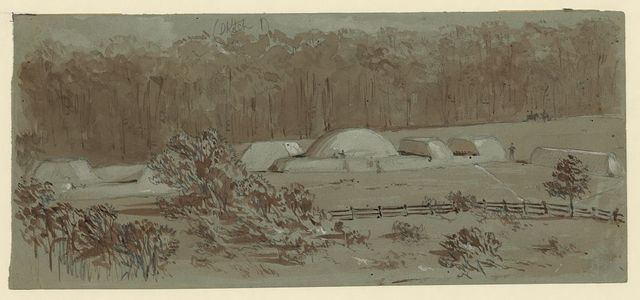 Fort Clifton within Appomattox--sketched from the Signal Tower