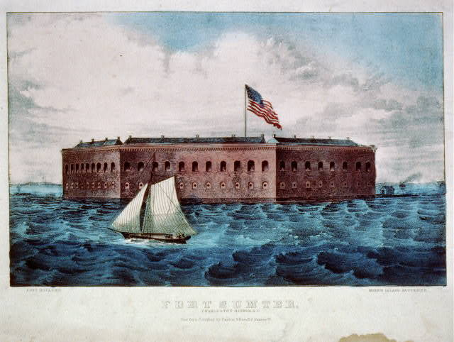 Fort Sumter: Charleston Harbor, S.C.