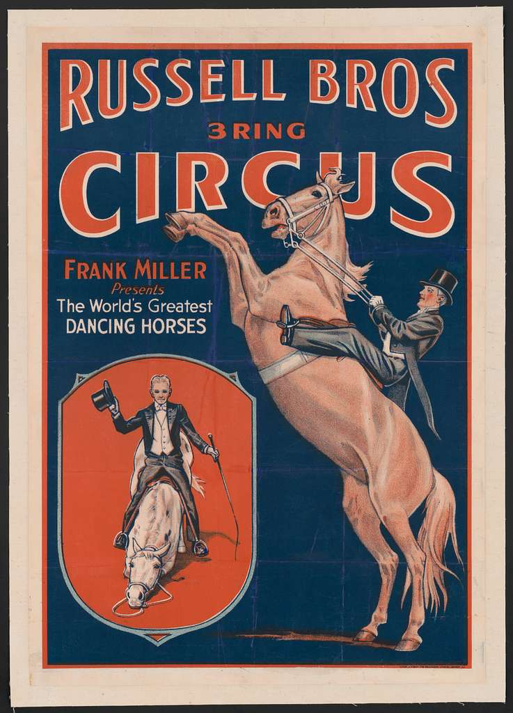 Frank Miller presents the world's greatest dancing horses