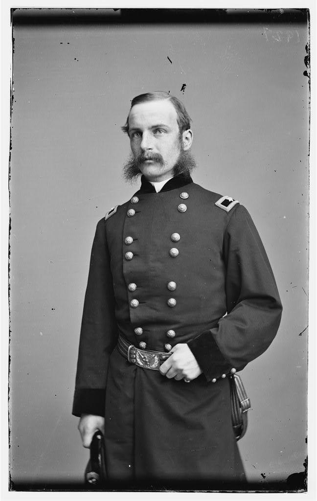 Gen. Frederick Winthrop, Killed Five Forks April 1, 1865