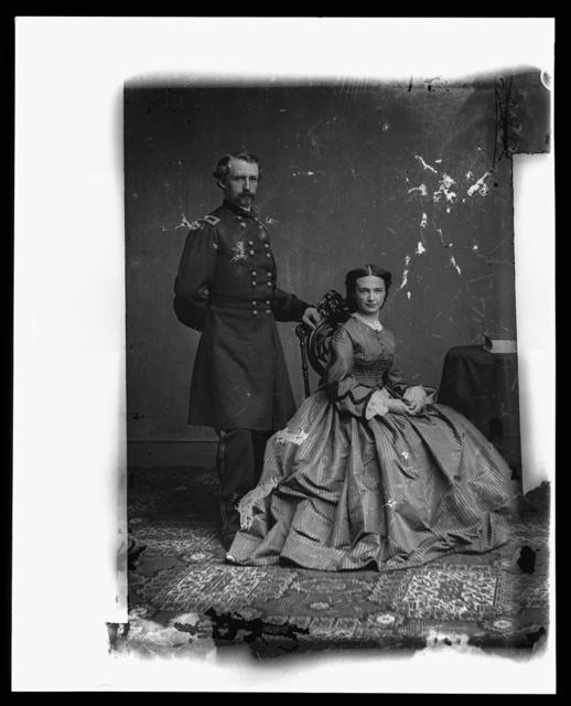 Gen. George Custer & Wife