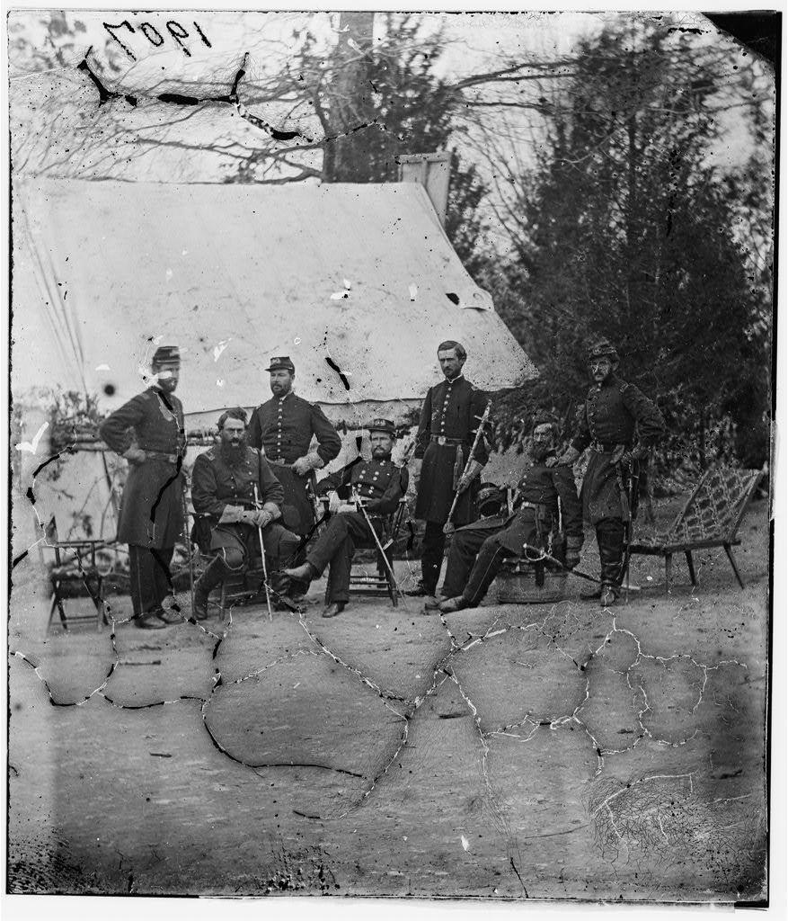 Gen. J.J. Peck & staff