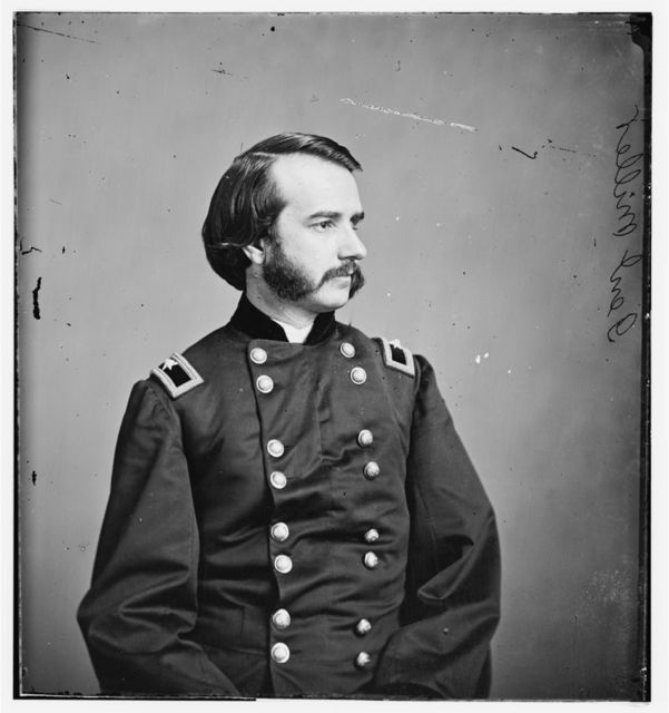 Gen. John F. Miller, Col of 29th Ind. Inf. Wounded at Stone River