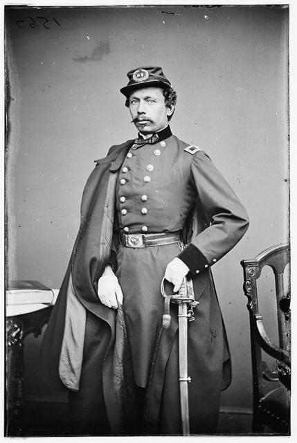 Gen. Julius Stahel (Hungarian name [SZAMWALD?]