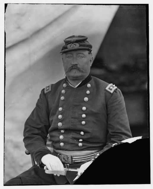 Gen. W.H. French. Bealton [i.e., Bealeton], Va. Oct. 1863