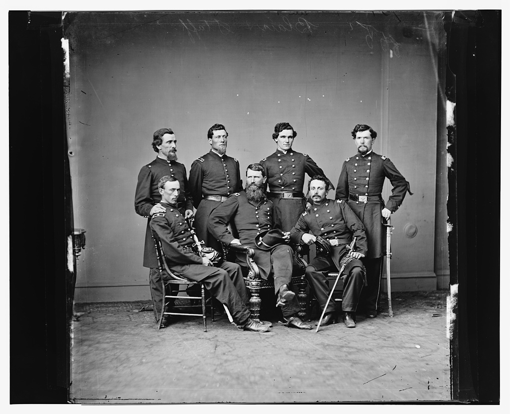General Francis Blair and staff, U.S.A.