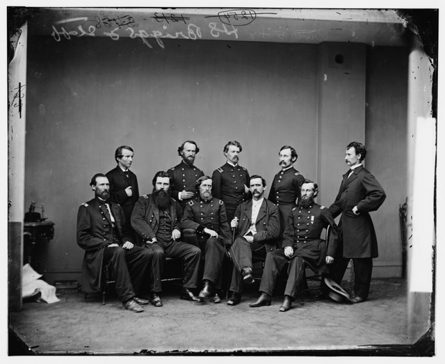 General Henry S. Briggs and staff