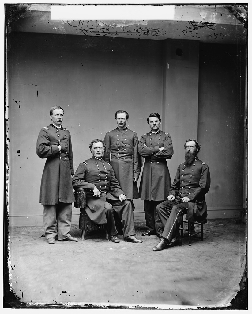 General James B. Steedman and group