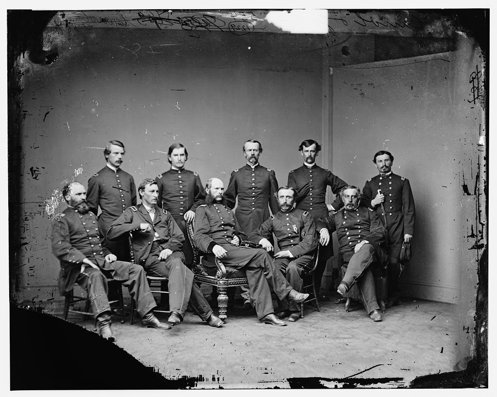 General Samuel S. Carroll and staff