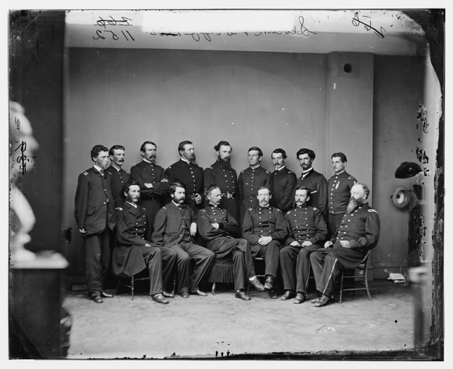 General Slocum and Staff