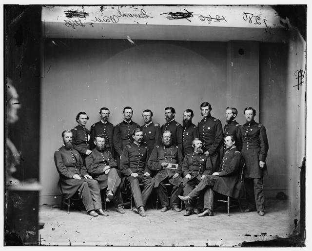 General Wm. T. Ward and staff