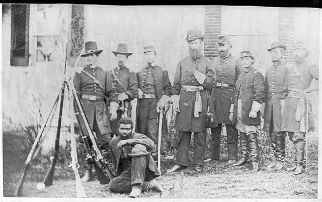 [Gen'l. John W. Geary and staff - taken at Harper's Ferry]
