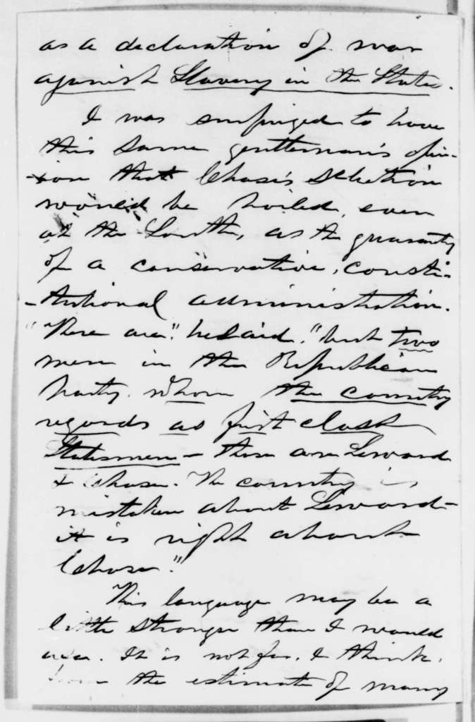 George G. Fogg to Abraham Lincoln, Saturday, December 22, 1860  (Report from New York and meeting with Greeley)