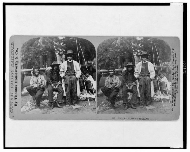 Group of Piute [i.e. Paiute] Indians