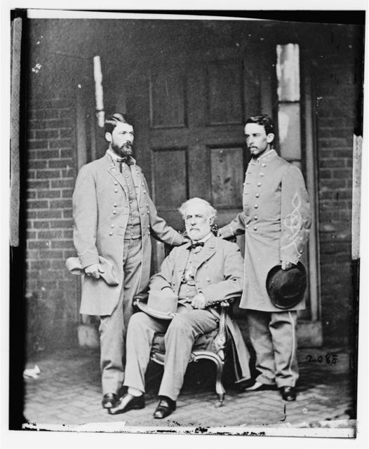 G.W.C. Lee, Robert E. Lee, Walter Taylor