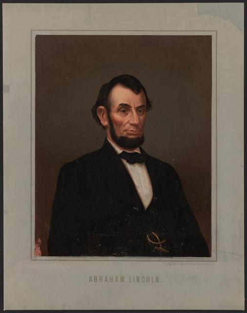 [Hagelberg portrait of Abraham Lincoln]