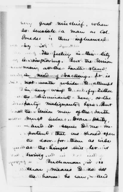 Henry J. Raymond to Abraham Lincoln, Friday, December 14, 1860  (Forwards letter and discusses political issues)