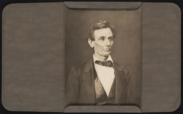 [Hesler photograph of Lincoln.]