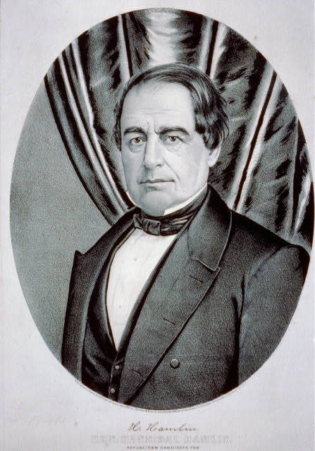 Hon. Hannibal Hamlin: Republican candidate for vice president of the United States