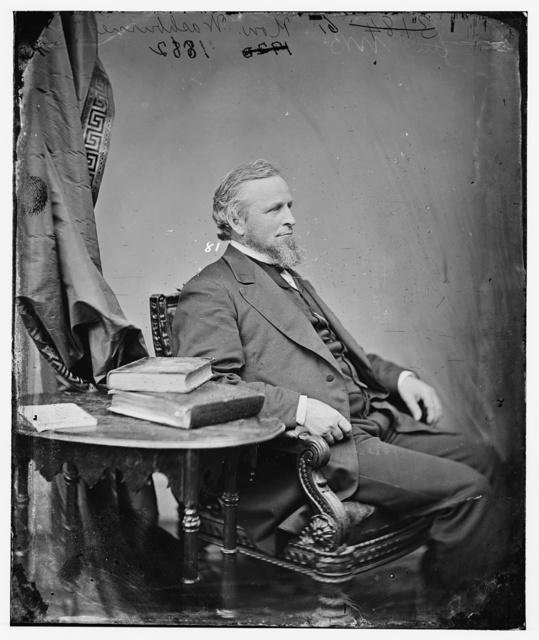 Hon. [William Barrett] Washburn of Mass.