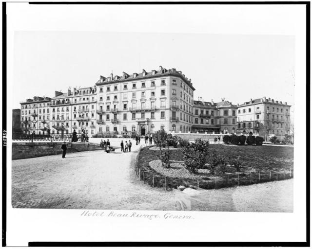 Hotel Beau Rivage. Geneva