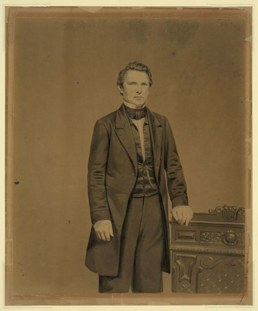 Imperial photograph of Thomas Lilbourne Anderson / Brady, New York & Washington.